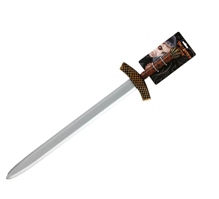 Espada de Caballero o Rey Medieval de 107 cm.