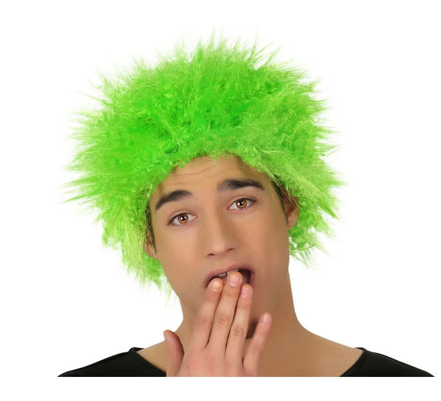 Peluca Punky verde.