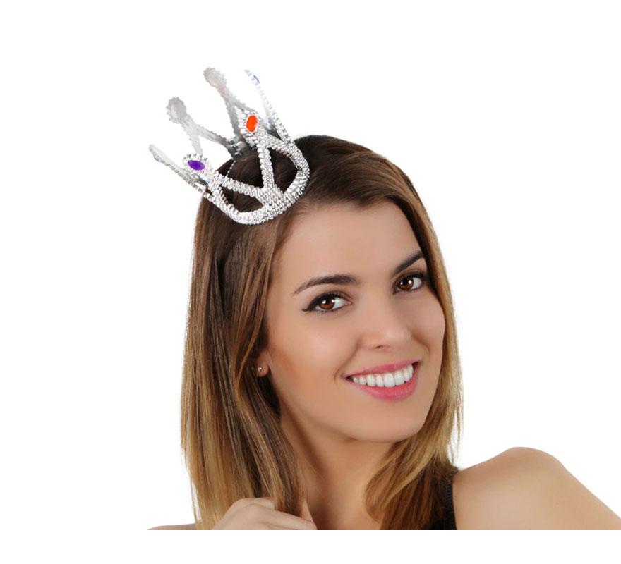 Mini corona de Princesa con goma