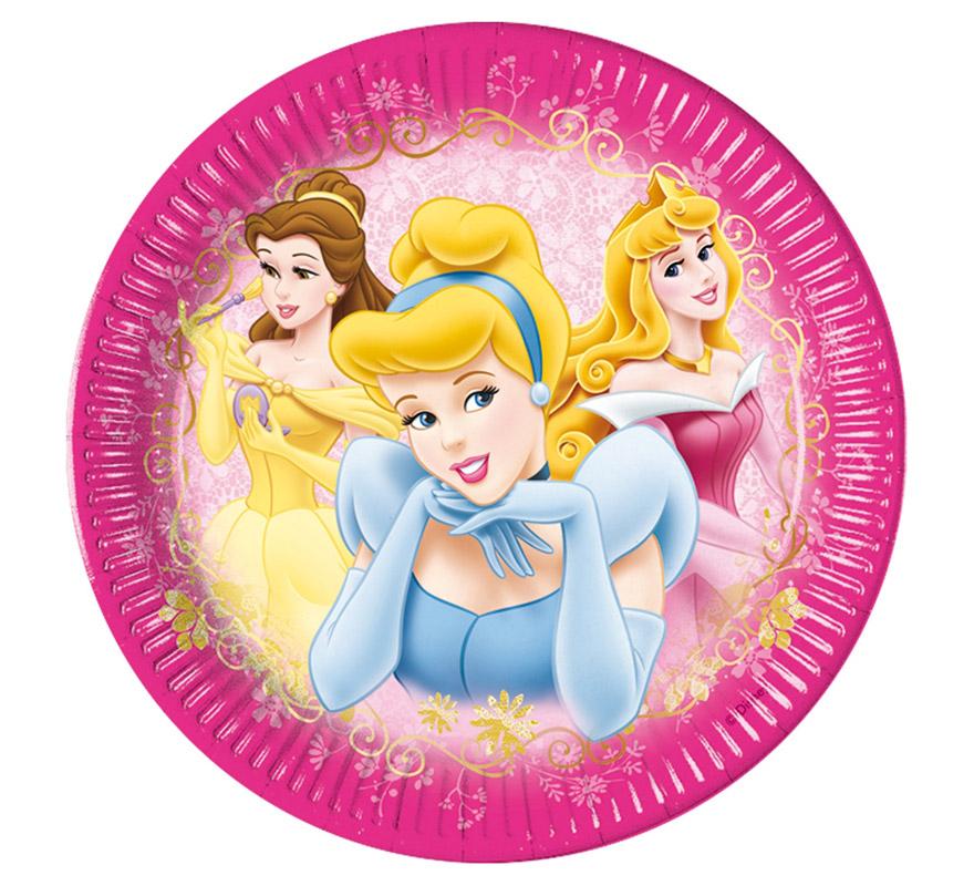 Bolsa de 6 platos de las Princesas Beauty Disney.