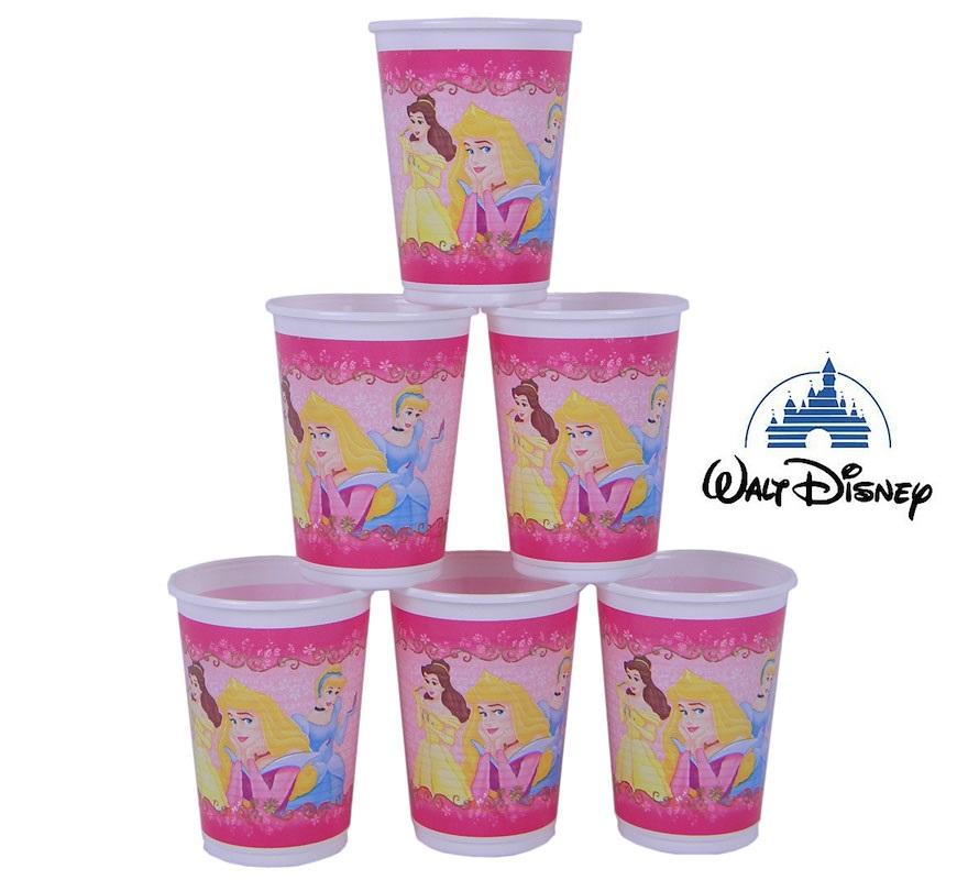 Bolsa de 6 vasos de las Princesas Beauty, Disney.