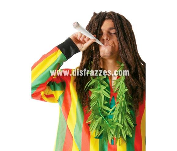 Collar hojas de Marihuana. Perfecto para disfrazarse de Rastafari o de Bob Marley.