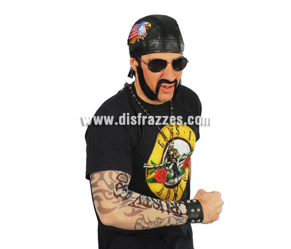 Tatuaje brazo. Perfecto para disfraces de Motero o Sado, también Punk.