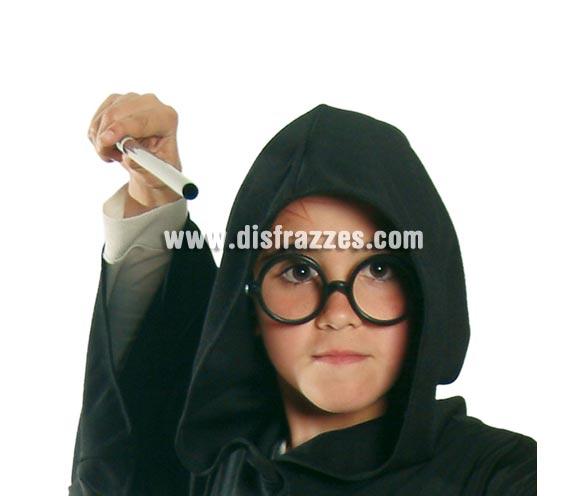 Gafas redondas. Perfectas para disfraces de Harry Potter y de Wally, también para Secretaria. Sin cristales.