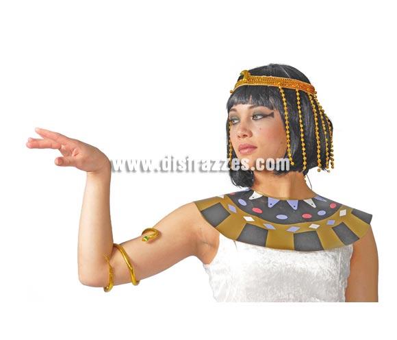 Conjunto Cleopatra. Incluye diadema y pulsera.