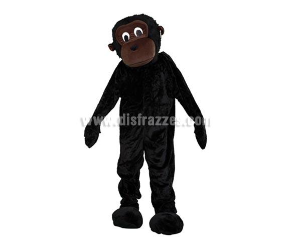 Disfraz o Mascota Gorila. Talla Universal de adultos. Incluye cabeza, mono con guantes y cubre zapatos. Perfecta para Grupos de Animación Infantil, Hoteles, etc.