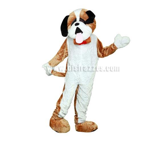 Disfraz o Mascota Perro. Talla Universal de adultos. Incluye cabeza, mono con guantes y cubre zapatos. Perfecta para Grupos de Animación Infantil, Hoteles, etc.