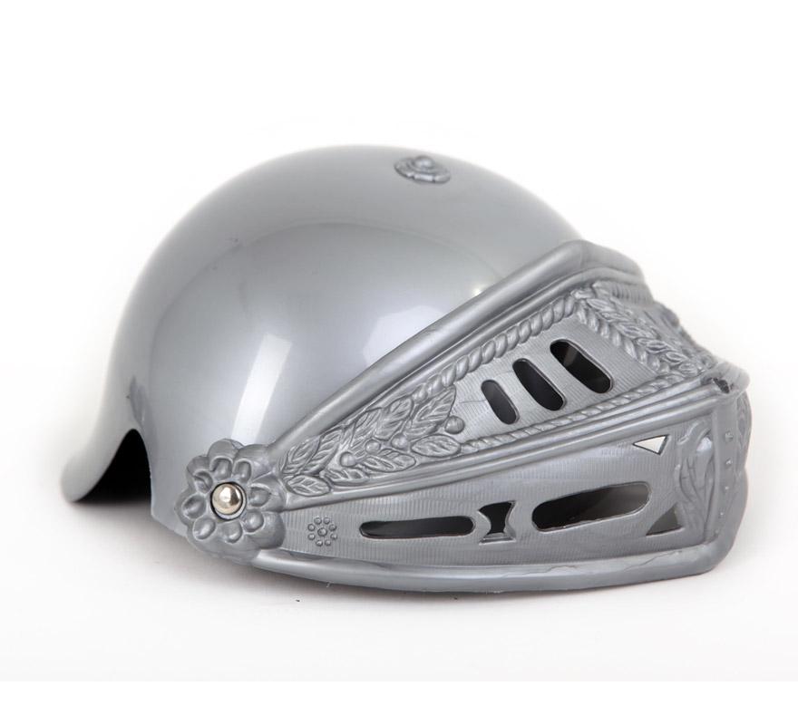 Casco de Gladiador con celada gris