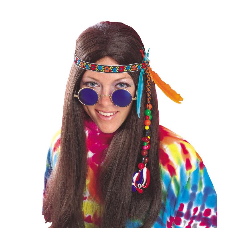 Cinta Hippie mujer con adornos.