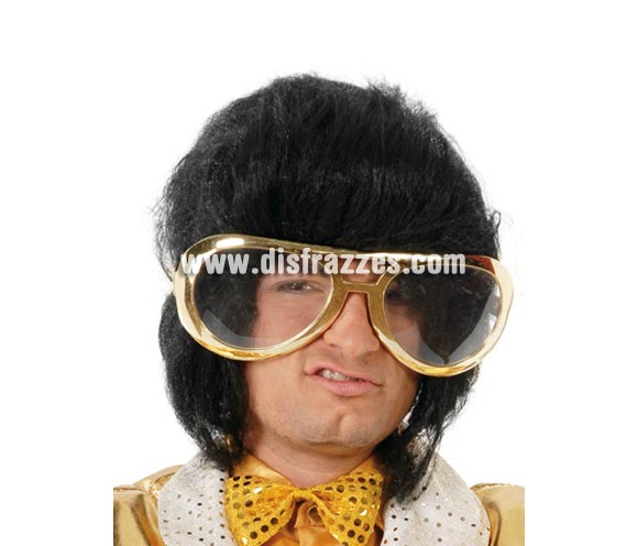 Gafas Elvis gigantes. Perfectas para disfraz de Rey del Rock y Discotequero. También para Despedidas de Soltero.