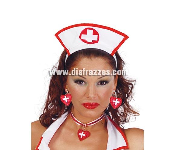 Collar Enfermera. Incluye sólo el collar, los pendientes los podrás ver con la ref. 16598GUI.