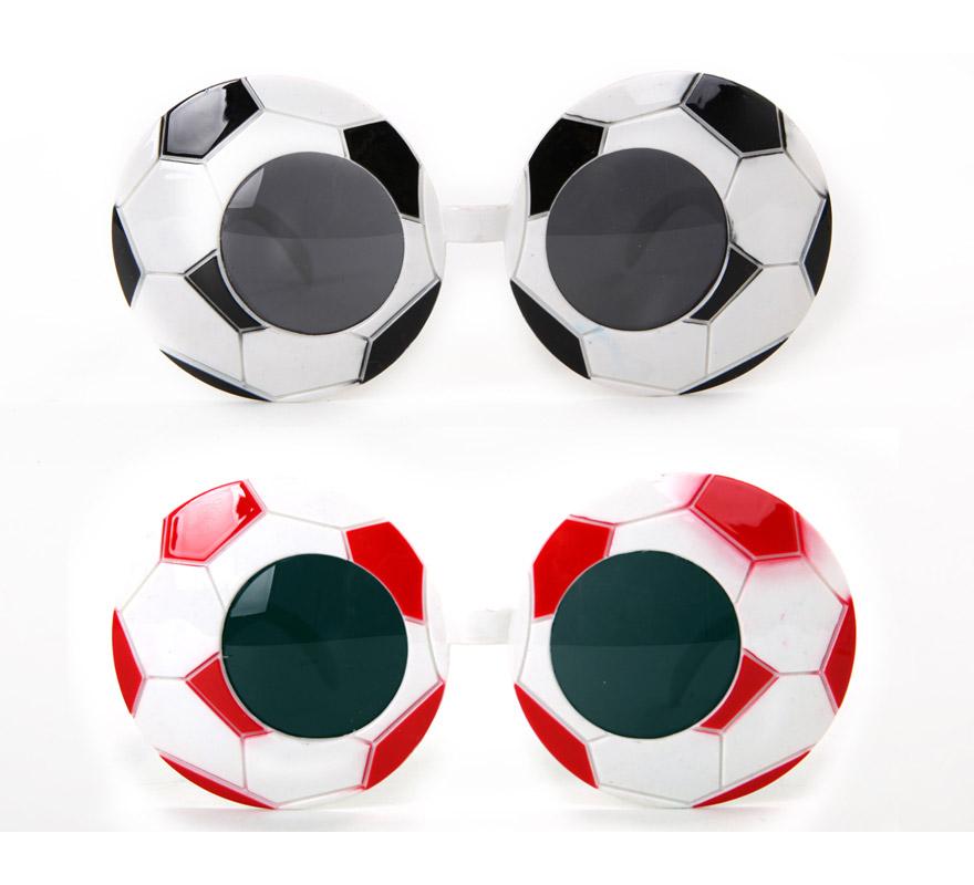 Gafas de Balón de Fútbol. Disponible en 2 colores. Precio por unidad, se venden por separado. Talla universal.