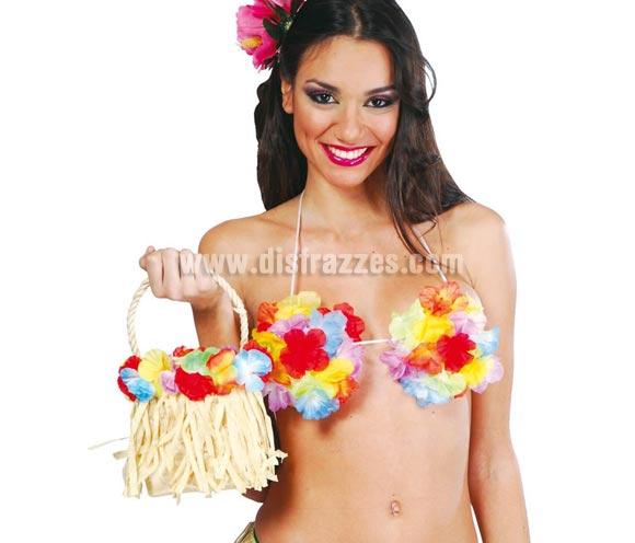 Bolso Hawaiano ideal como complemento si vas a una Fiesta de Hawai éste verano.