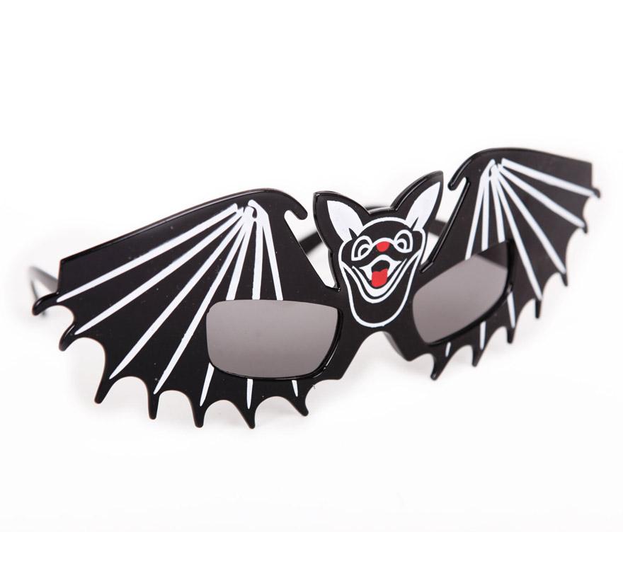 Gafas con forma de Muciélago. Perfectas como Complemento para Halloween.