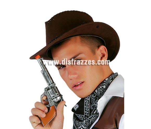 Revolver 24 cm. Perfecto para disfraces de Vaqueros o Pistoleros.