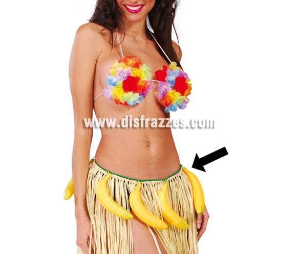 Cinturón de Bananas o Plátanos perfecto como complemento de disfraces de Hawaianos y también para los disfraces de Mono.