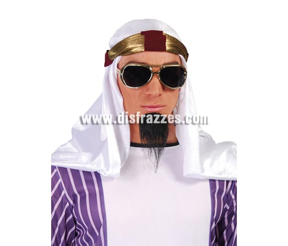 Turbante Jeque Árabe o Príncipe del Desierto.