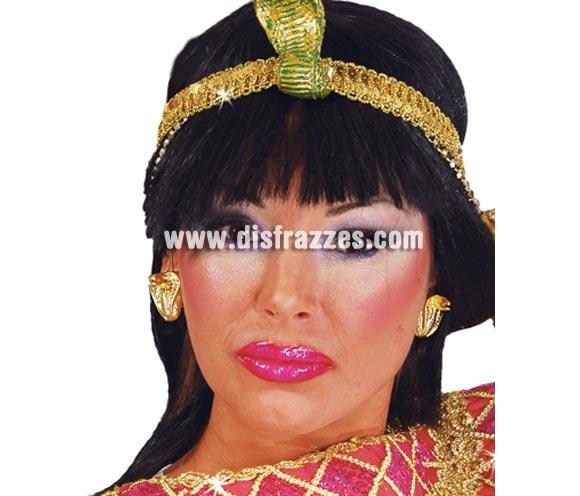 Pendientes Egipcia o Cleopatra.