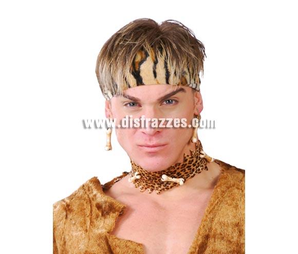 Conjunto pendientes y collar de Huesos Cavernícola o Troglodita.