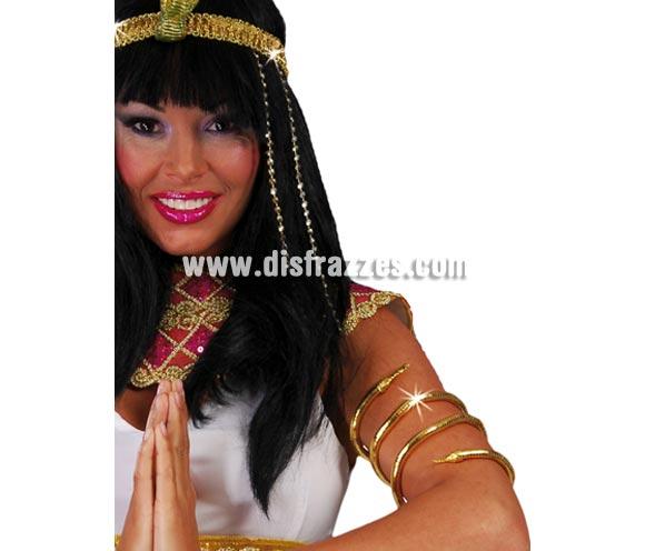 Brazalete Serpiente Egipcia Cleopatra.