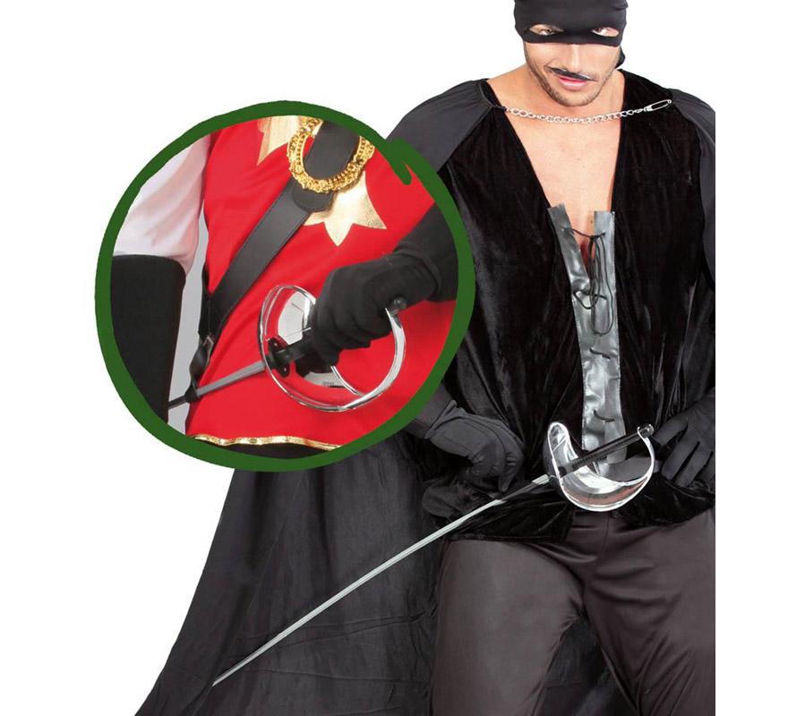 Florete extra de Mosquetero de 100 cm. También sirve como espada del Zorro.