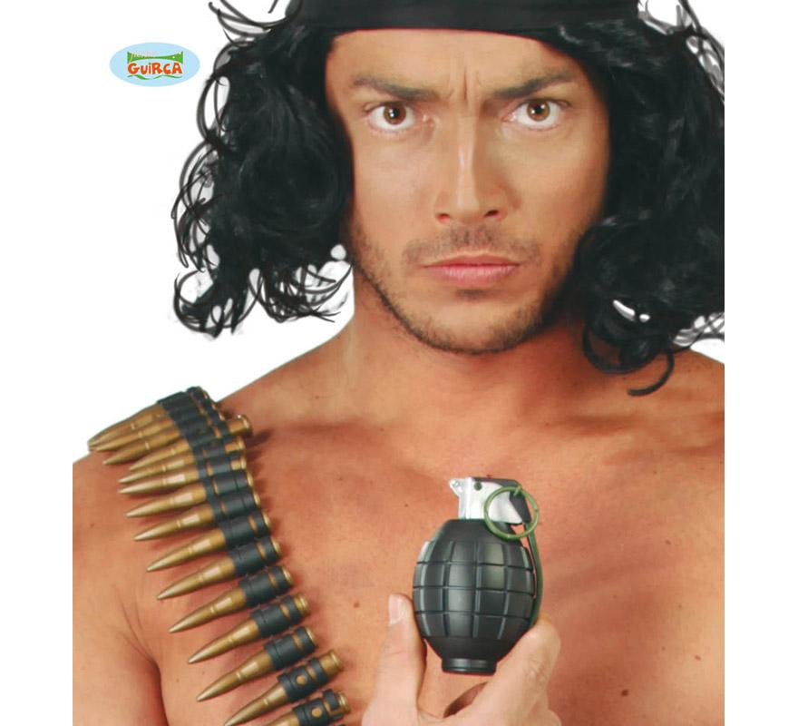 Granada o Bomba de mano con sonido. Perfectas como complemento para los disfraces de Camuflaje, Militar o Ejército.