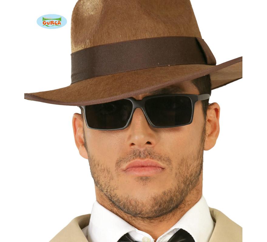 Gafas Espía negras.