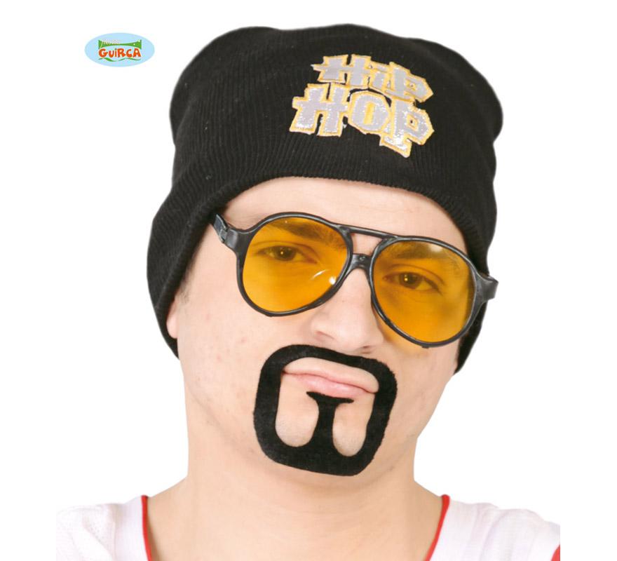 Conjunto de Gafas y Perilla de Hip-Hop. También sirve para el disfraz de Hippie.