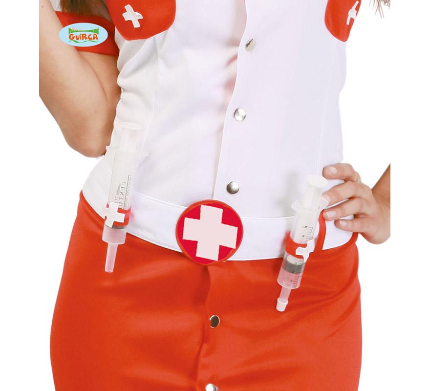Cinturón de Enfermera con 2 Jeringuillas.
