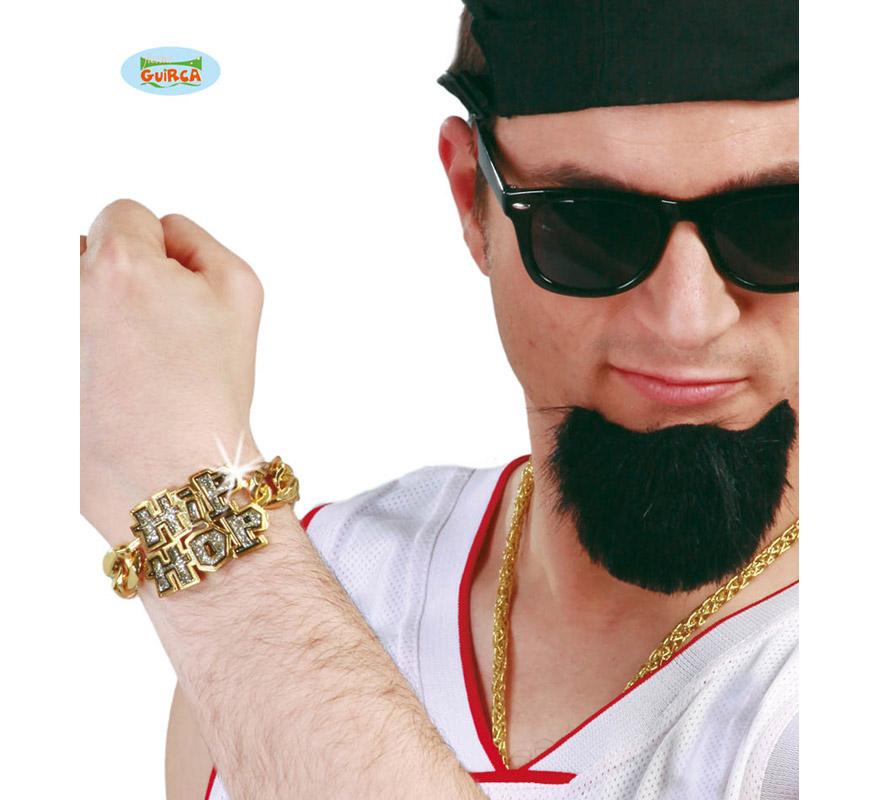 Pulsera Hip-Hop imitación oro. Perfecto para disfrazarse de Rapero.