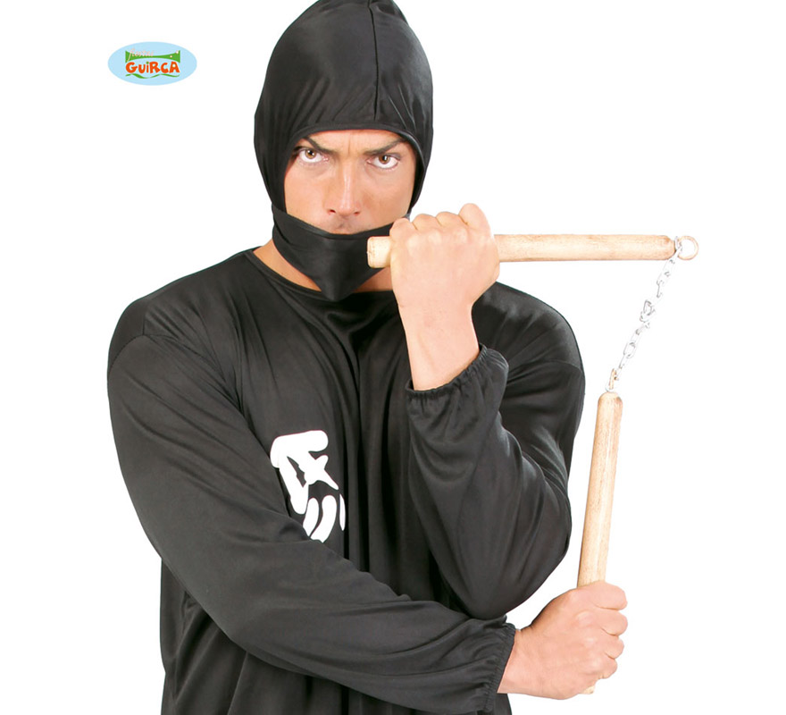 Luchacos o Nunchaku de Ninja Extra de 30 cm.