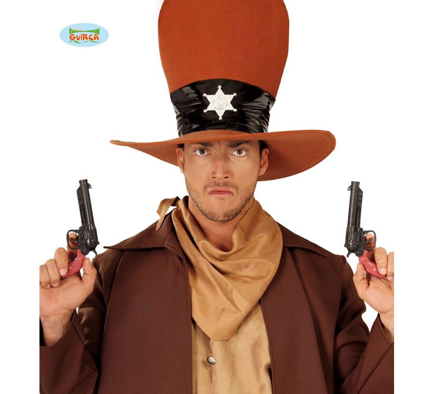 Blister de 2 pistolas de Vaquero de 20 cm.