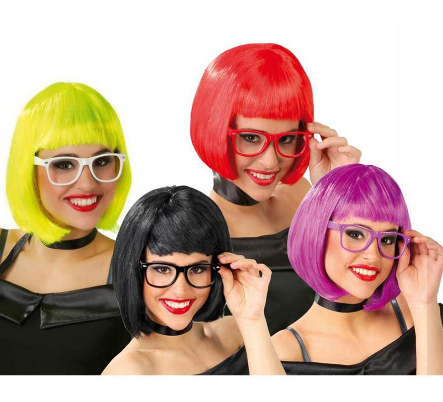 Gafas fashion sin cristales 4 colores surtidos. Precio por unidad, se venden por separado.