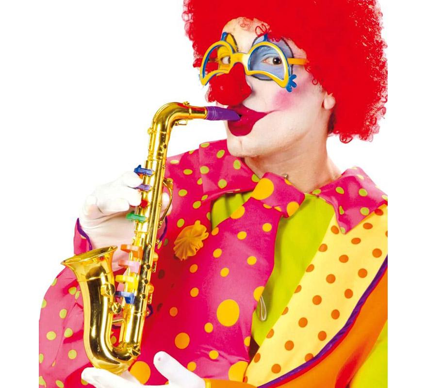 Saxofón de plástico de 40 cm.