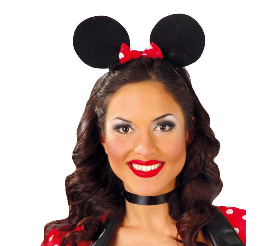 Diadema de Ratoncita de EVA. Ideal para disfrazarse de Minnie.