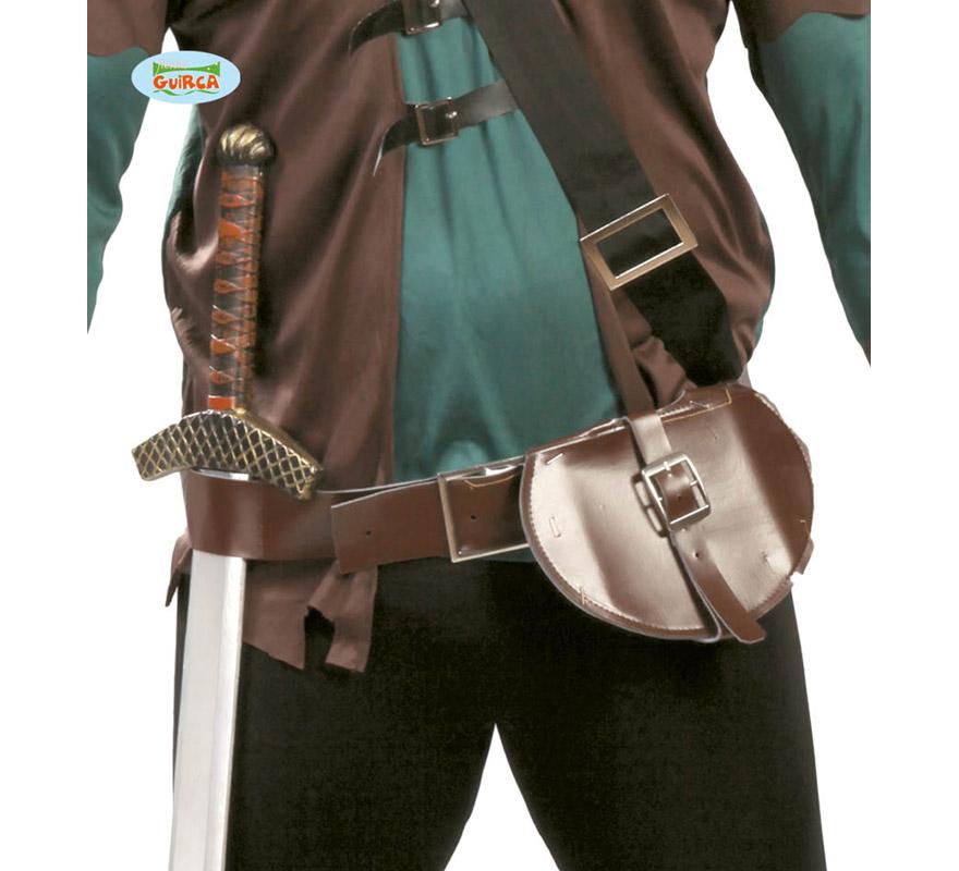 Cinturón Medieval con bolsa o bolso. También puede valer para Robin Hood.