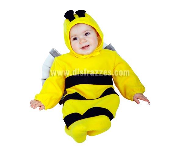 Disfraz o Saquito Abejita para Bebés de 0-6 meses. Incluye traje y gorro.