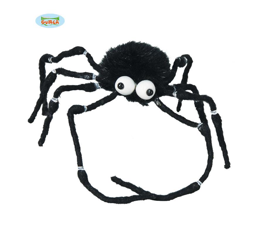 Araña de 20 cm para decoración de Halloween.
