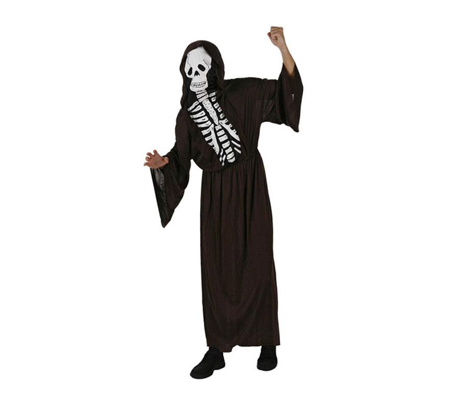 Disfraz barato de Esqueleto para hombre talla M-L