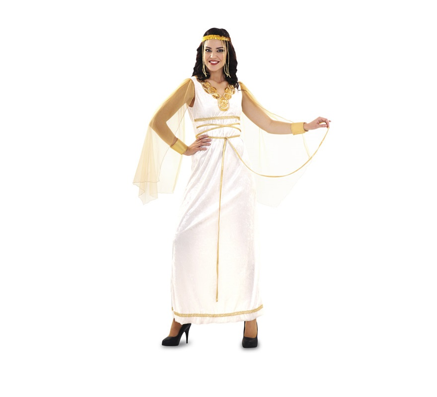 Disfraz barato de Reina Espartana para mujer talla M-L