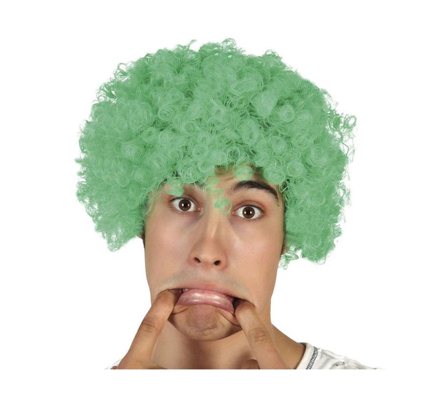 Peluca de Payaso verde.