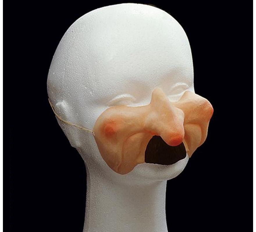 Moflete nariz de Brujo.