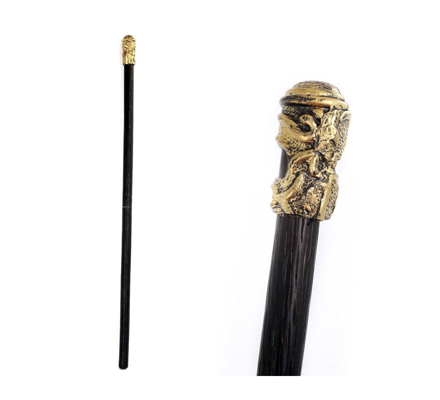 Bastón Conde Drácula de 126.5 cm, de plástico. También sirve como Bastón de Lord para los disfraces de Época.