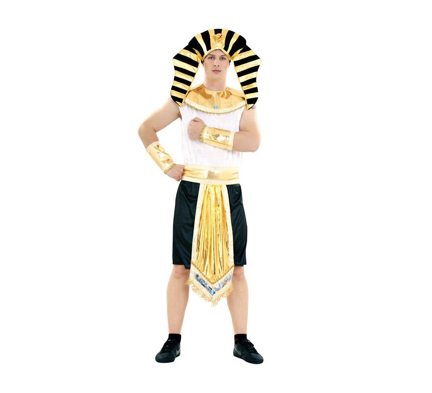 Disfraz barato de Rey Egipcio para hombre talla M-L