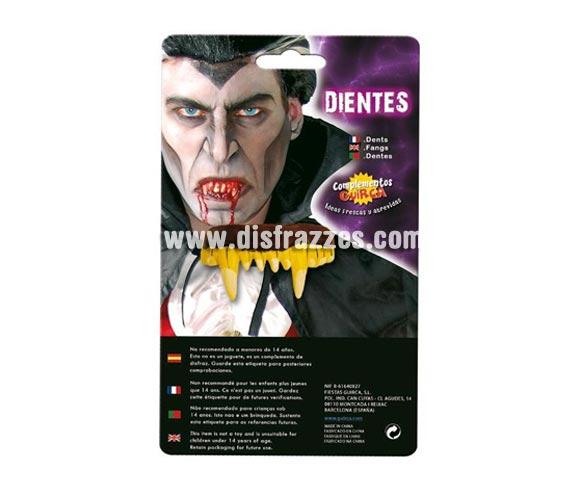 Dientes de Vampiro para Halloween.