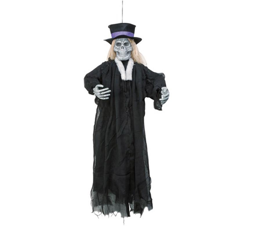 Esqueleto Novio colgante, 90 cm. Perfecto para decoración de Halloween.