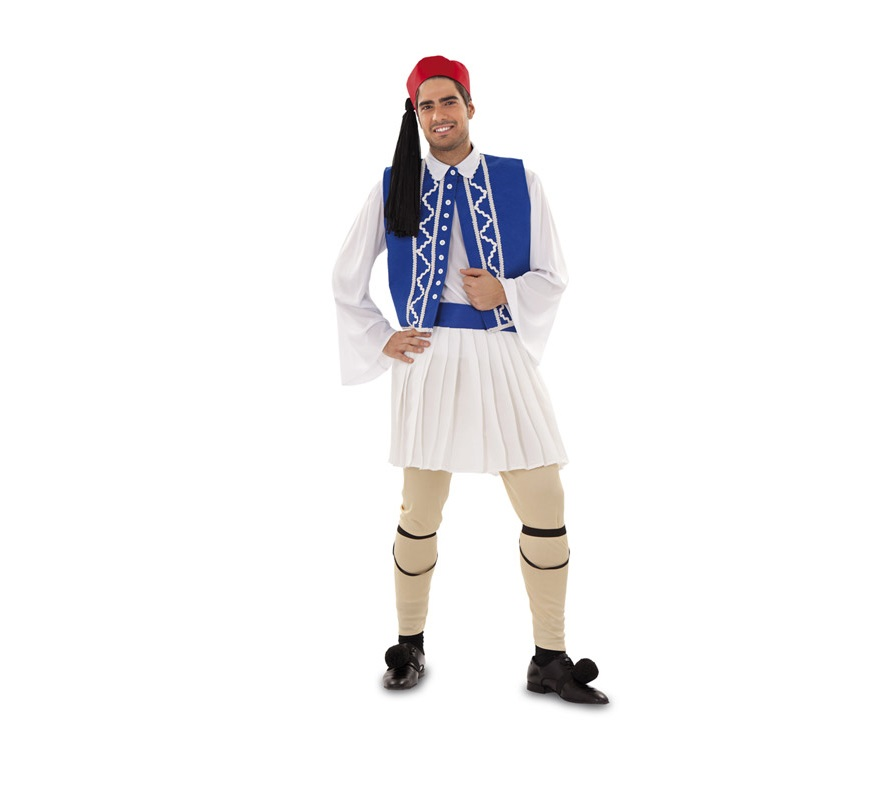 Disfraz barato de Griego para hombre talla M-L