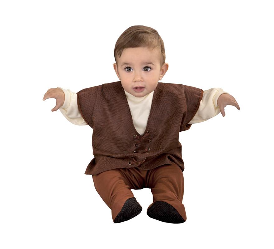 Disfraz de Posadero Medieval para bebé de 6 a 12 meses. Incluye mono.