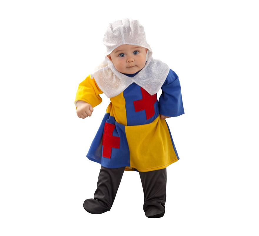Disfraz de Don Rodrigo para bebé 6 a 12 meses. Incluye mono y gorro.
