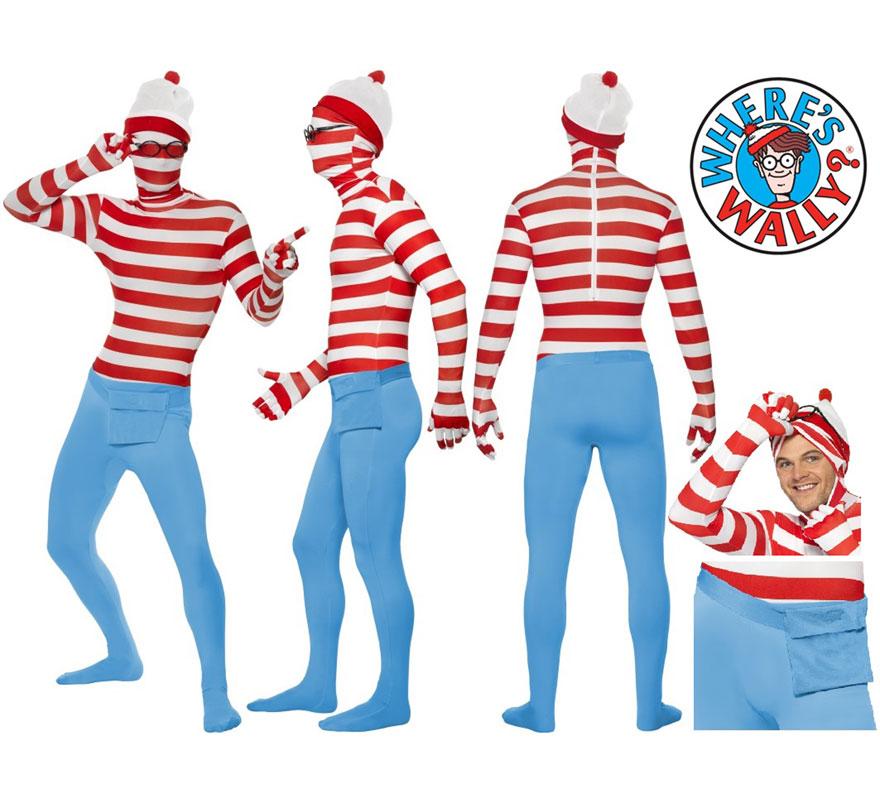 Disfraz Original y Genuino del Archiconocido Wally de los magnífico libros o cómics de